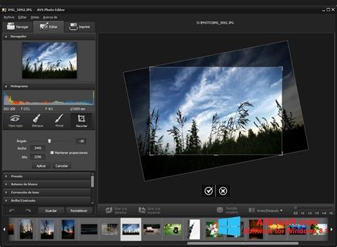 Snimak zaslona Photo! Editor Windows 8.1
