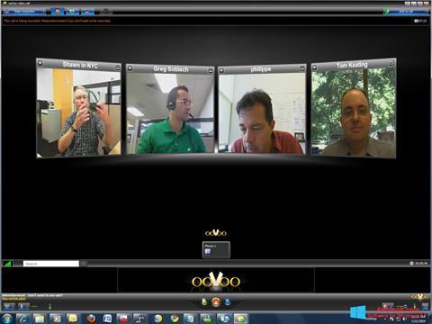 Snimak zaslona ooVoo Windows 8.1