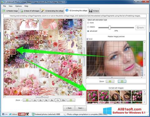 Snimak zaslona Photo Collage Windows 8.1