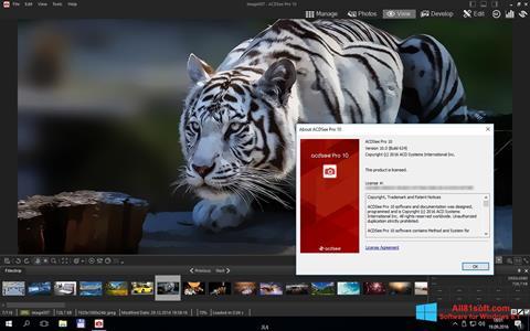 Snimak zaslona ACDSee Pro Windows 8.1