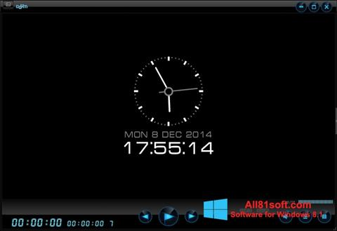 Snimak zaslona Daum PotPlayer Windows 8.1
