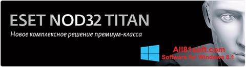 Snimak zaslona ESET NOD32 Titan Windows 8.1