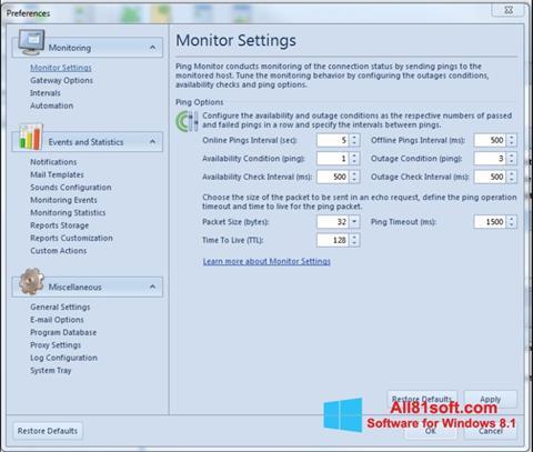 Snimak zaslona QIP Windows 8.1