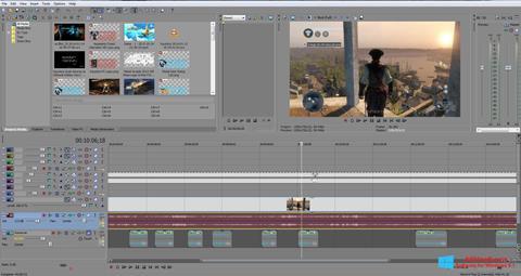 Snimak zaslona Sony Vegas Pro Windows 8.1