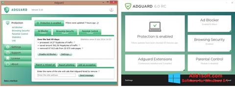 Snimak zaslona Adguard Windows 8.1