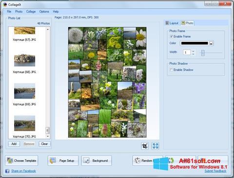Snimak zaslona CollageIt Windows 8.1