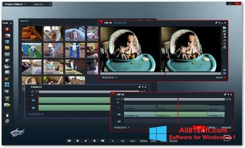 Snimak zaslona Lightworks Windows 8.1