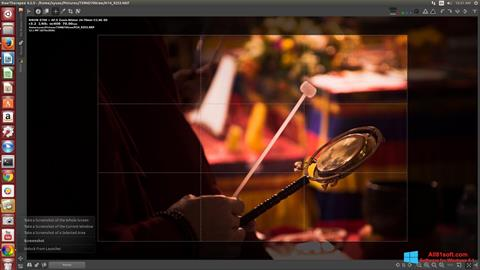 Snimak zaslona RawTherapee Windows 8.1